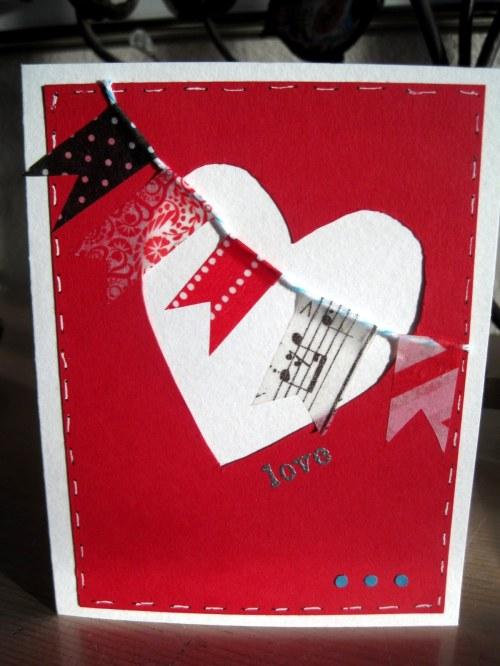 Washi Banner Valentine