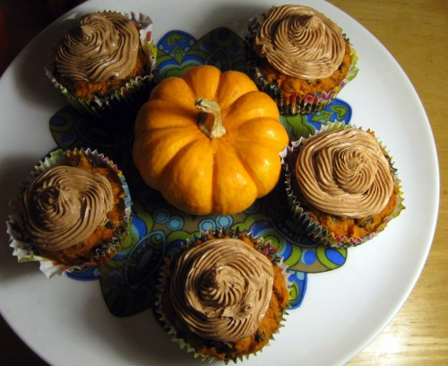 Cake Mix & Can O' Pumpkin