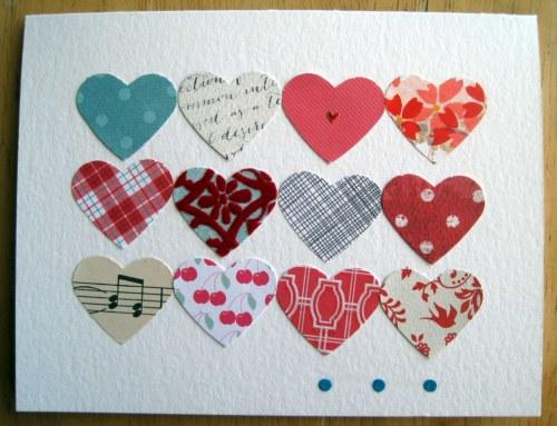 A dozen hearts