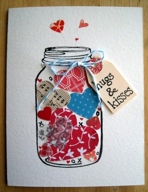 jar of hugs and kisses