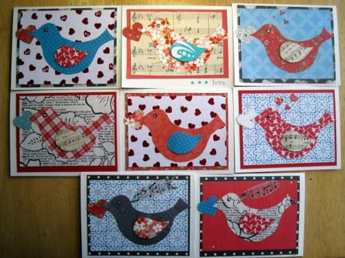 Flock of Paper Birdies