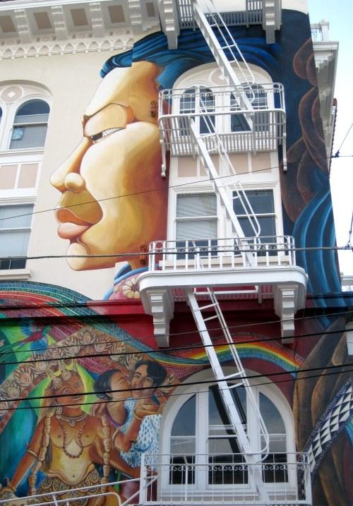 Woman/mural