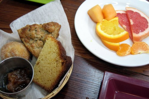 Fruit & Pastry @ WOW Cafe
