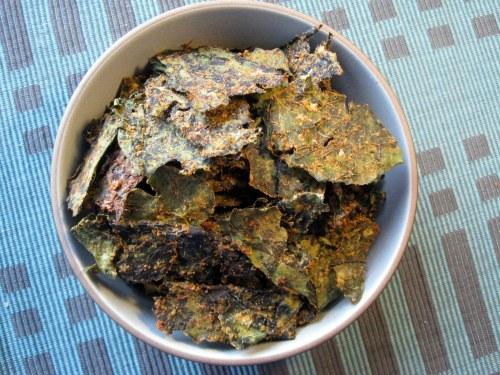 Bowl O' Kale Chips