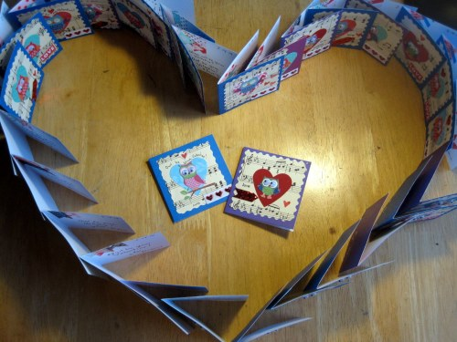 Heart Made of Cards
