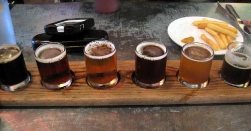 Beer Sampler, Bear Republic
