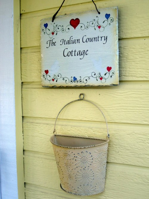 Cottage Sign
