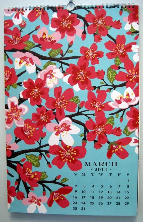 Paper Source Calendar