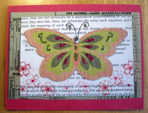 Butterfly with Glitter