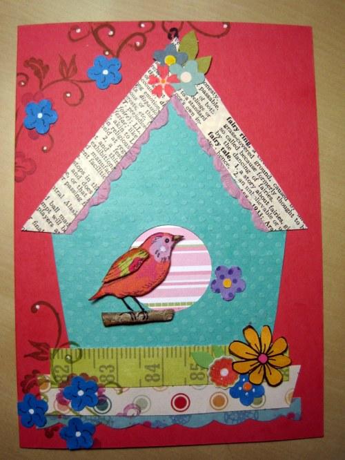 Turquoise Birdhouse