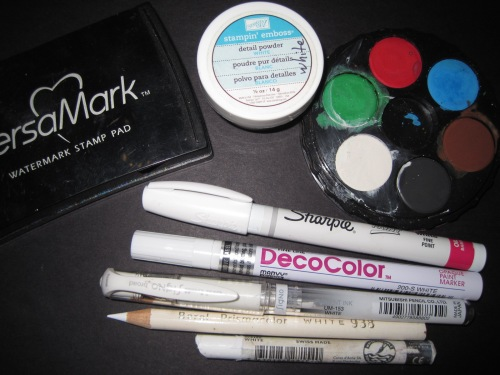 All the White Pens