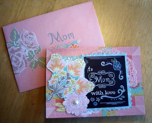 Finished Card + Envelope