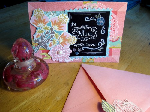 Chalkboard Card w/Envelope