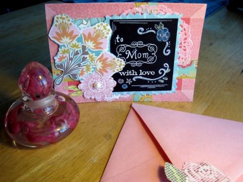 Chalkboard Card w/Envelope