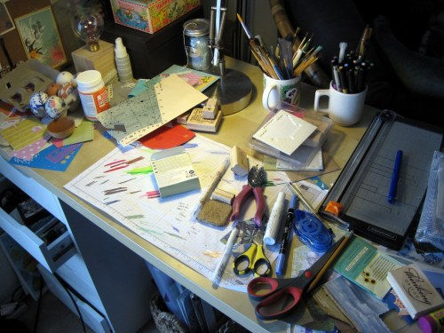 Miss Messy Desk