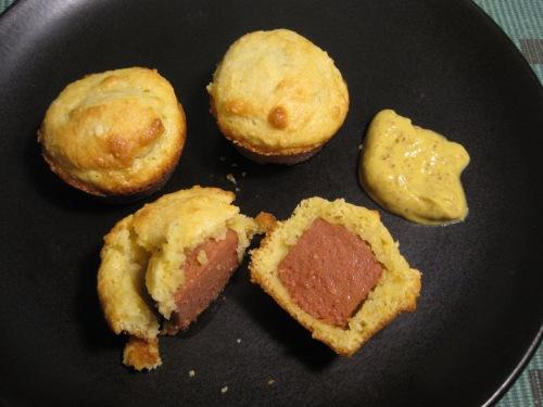 Cut Open Mini Muffin