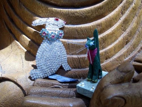 Rabbit & Cat