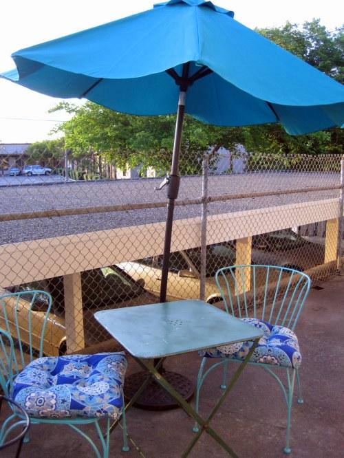 Table, Umbrella soft