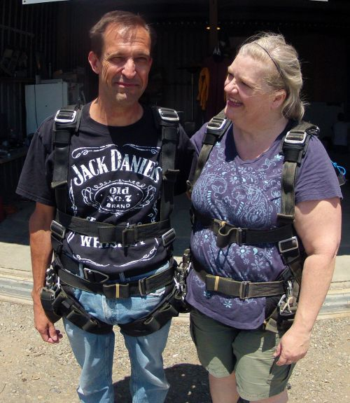 Harnesses on