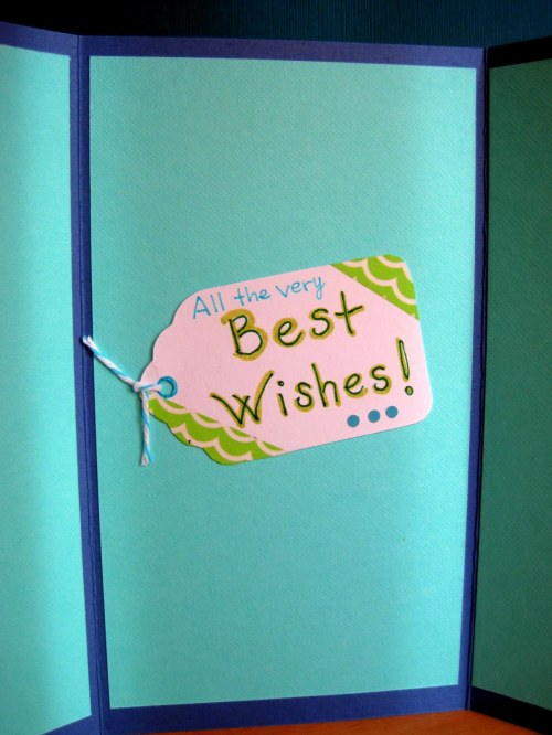 Best Wishes Tag