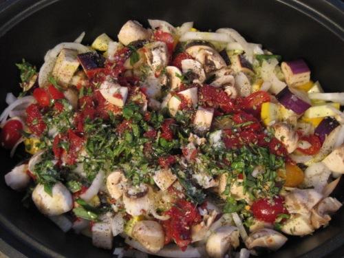 Full Recipe in pot