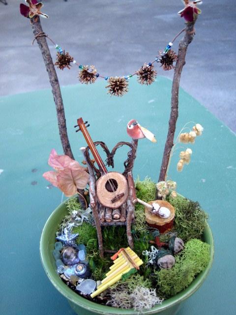 Fairy Music Garden