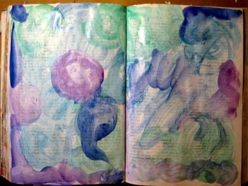 Watercolor layer