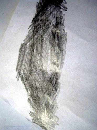 Scribbled Pencil