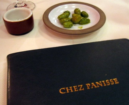 Wine List and Olives