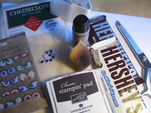 Mummy supplies