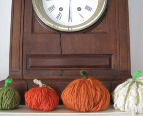 Mantle Pumpkins