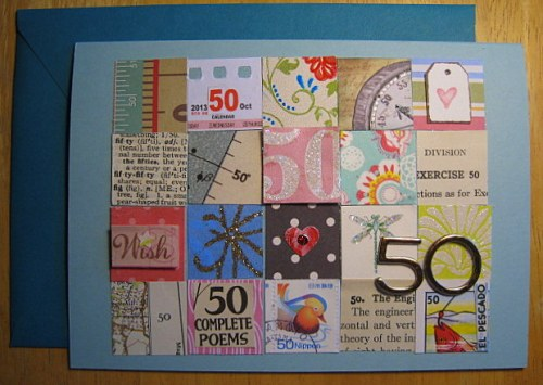 Nifty Fifty Inchies Card