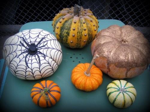 Embellished Pumpkins