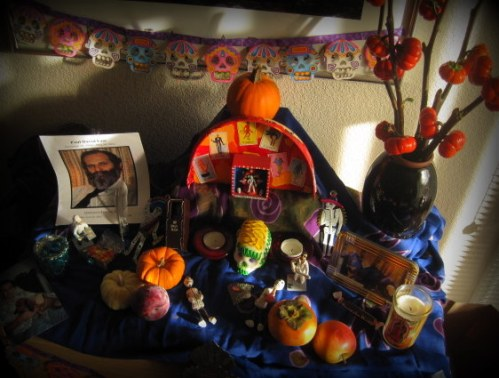 Day of the Dead altar 2014