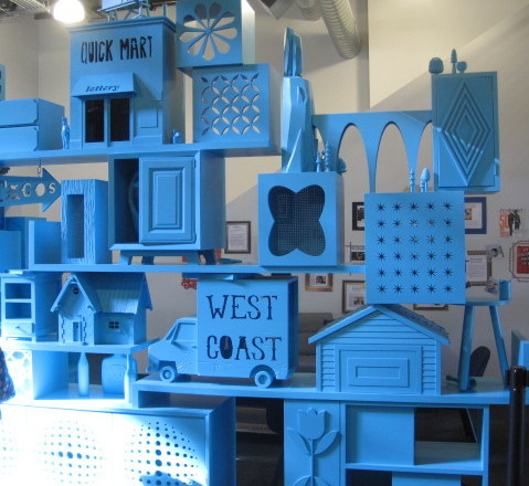 Blue Room divider